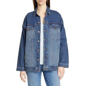 Eileen fisher oversized Demin jacket size L